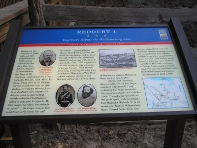 Redoubt 1 Marker Photo, Click for full size
