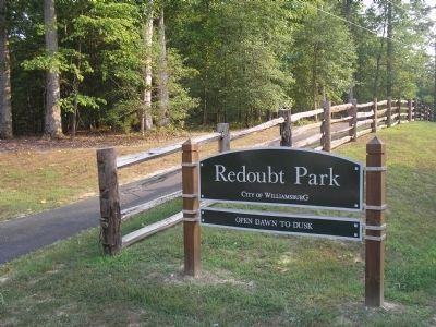 Redoubt Park in Williamsburg Photo, Click for full size