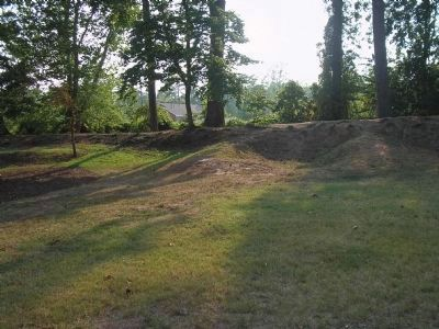 Confederate Fortifications image. Click for full size.