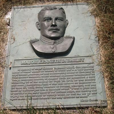 Major Kenneth D. Bailey Marker image. Click for full size.