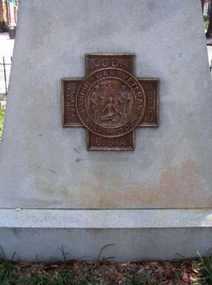The Georgia Volunteer Marker </b>(north face) image. Click for full size.