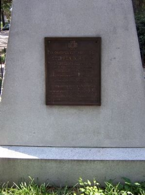 The Georgia Volunteer Marker </b>(east face) image. Click for full size.