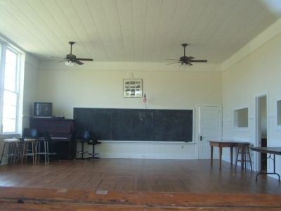 Interior of Taylor's Bridge School image. Click for full size.