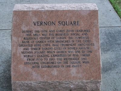 Vernon Square Marker image. Click for full size.