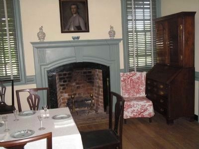 Moore House Dining Room image. Click for full size.
