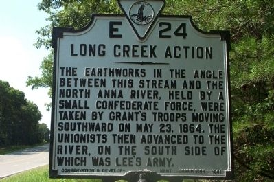 Long Creek Action Marker image. Click for full size.