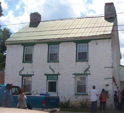 Old Stone House - Star Lodge No. 1 building, Charles Town, WV Photo, Click for full size