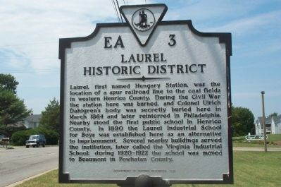 Laurel Historic District Marker Photo, Click for full size