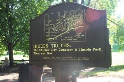 Lincoln Park Transitions Marker image. Click for full size.