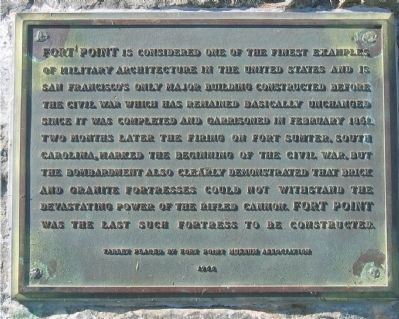 Fort Point Marker Photo, Click for full size