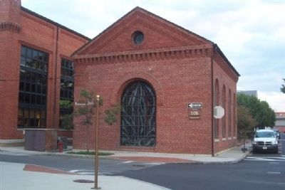 Washington Navy Yard Chapel, viewed from west image. Click for full size.