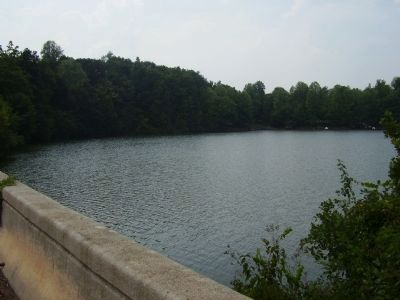 Lake Robinson off the Fews Bridge image. Click for full size.
