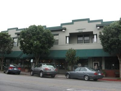 Main Street View of J. Debenedetti Building image. Click for full size.