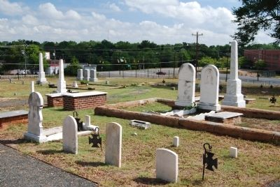 The First Baptist Church Cemetery image. Click for full size.
