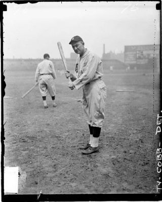 Ty Cobb image. Click for full size.