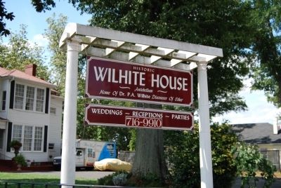 Historic Wilhite House Marker image. Click for full size.