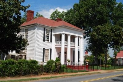 Historic Wilhite House -<br>Southeast Elevation image. Click for full size.