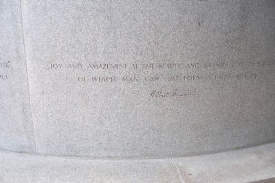 Albert Einstein - The Einstein Memorial Marker image. Click for full size.