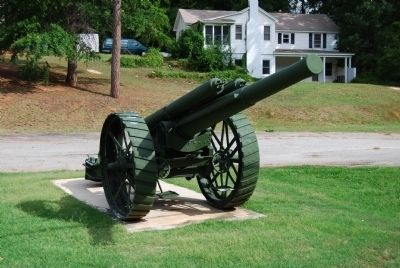 British 60-pounder Field Gun Mark II<br>Located Near the Doughboy Statue image. Click for more information.