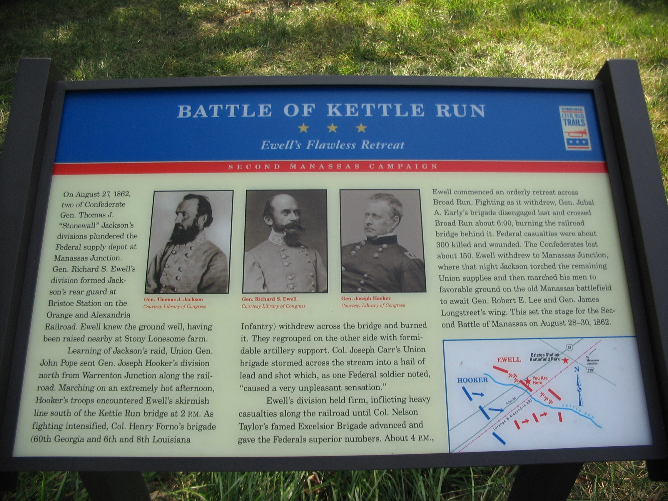 Battle of Kettle Run Marker