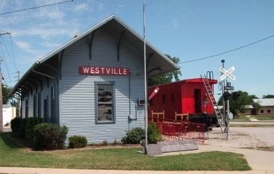 Westville Railroad Museum Photo, Click for full size