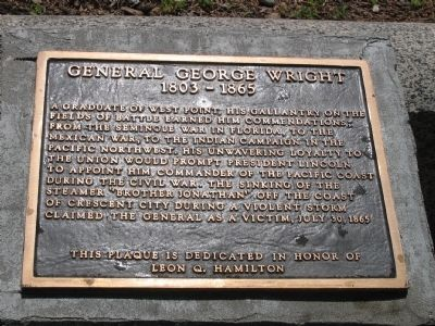 General George Wright Marker image. Click for full size.