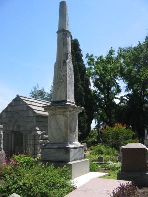 General George Wright Monument image. Click for full size.