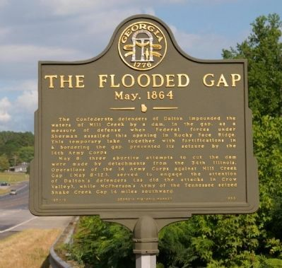 The Flooded Gap Marker image. Click for full size.