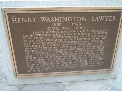 Henry Washington Sawyer Marker image. Click for full size.