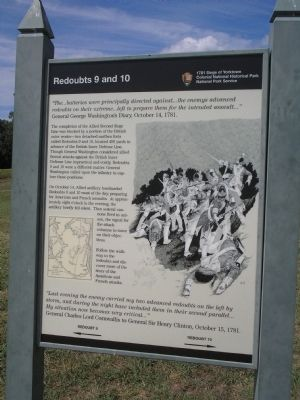 Redoubts 9 and 10 Marker image. Click for full size.