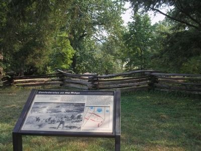 Marker on Marye's Heights image. Click for full size.
