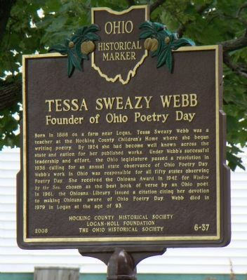 Tessa Sweazy Webb Marker image. Click for full size.