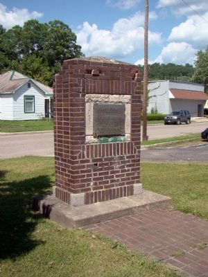 Hocking Canal Site Monument image. Click for full size.