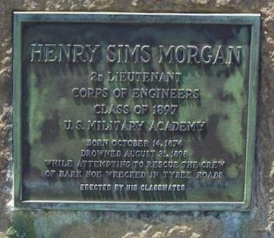 Henry Sims Morgan Marker Photo, Click for full size