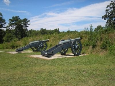 Artillery at the Grand French Battery image. Click for full size.