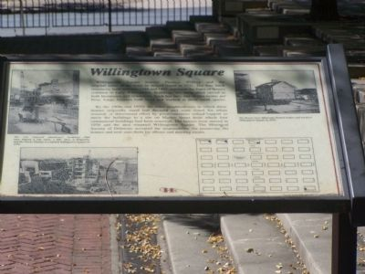 Willingtontown Square Marker Photo, Click for full size