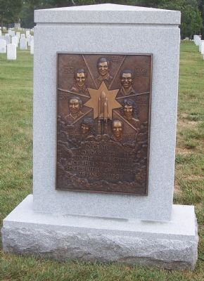 United States Space Shuttle Challenger Marker, obverse image. Click for full size.