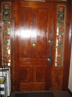 The Front Door of the Lola Montez Home Photo, Click for full size