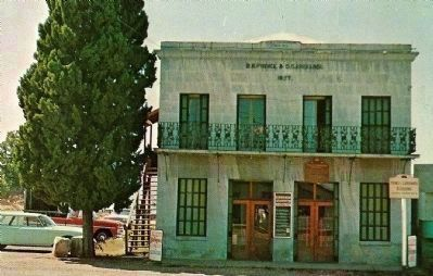 Vintage Postcard of The Prince-Garibardi Building image. Click for full size.
