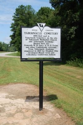 Second Tabernacle Cemetery Marker image. Click for full size.