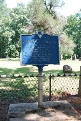 Original Tabernacle Cemetery Marker image. Click for full size.