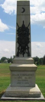 45th New York Infantry Monument image. Click for full size.