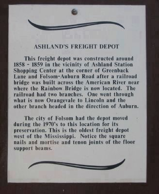 Marker on Sign Board in Front of Station image. Click for full size.