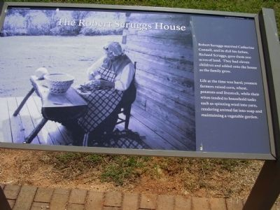 Robert Scruggs House Marker Photo, Click for full size