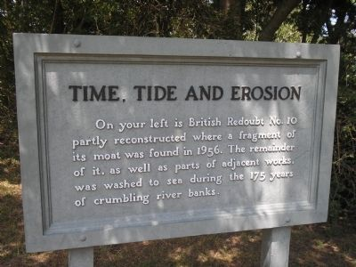 Time, Tide and Erosion Marker image. Click for full size.