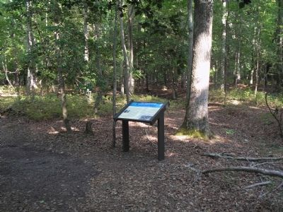 Marker on the Two Forts Walking Trail image. Click for full size.