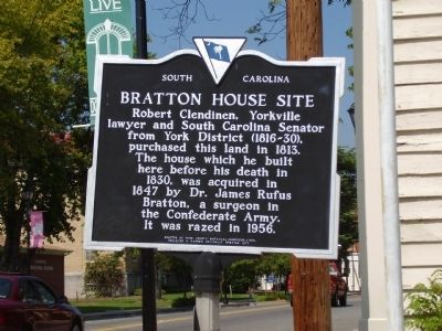 Bratton House Site Side Photo, Click for full size