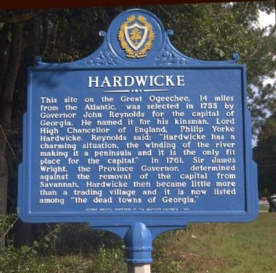 Hardwicke Marker image. Click for full size.
