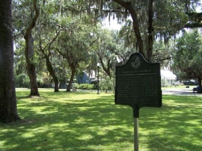 Darien's Railroad and Depot Marker image. Click for full size.