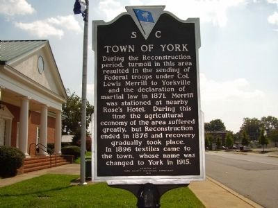 Town of York Marker image. Click for full size.